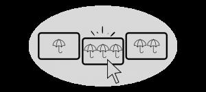VisualGAP Cursor Umbrellas