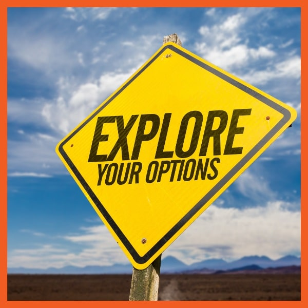 VSC Choice - Explore Your Options Sign