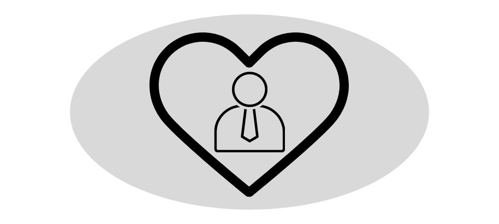 Executive Benefits - Loyalty - Person in Heart