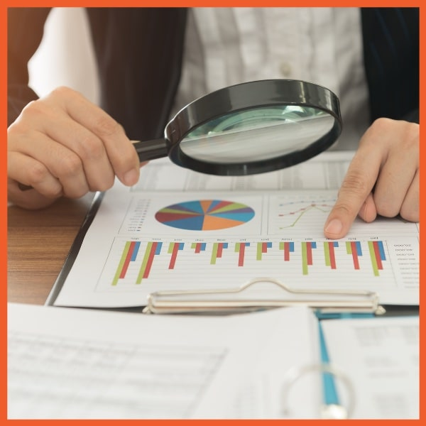 Payment Protection - Portfolio Risk - Looking at Graphs with Magnifying Glass