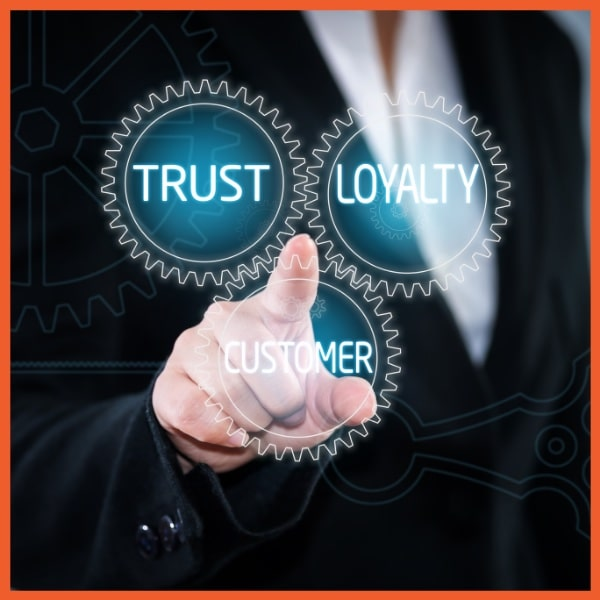 ReCapture - Loyalty - Businessperson Tapping Screen