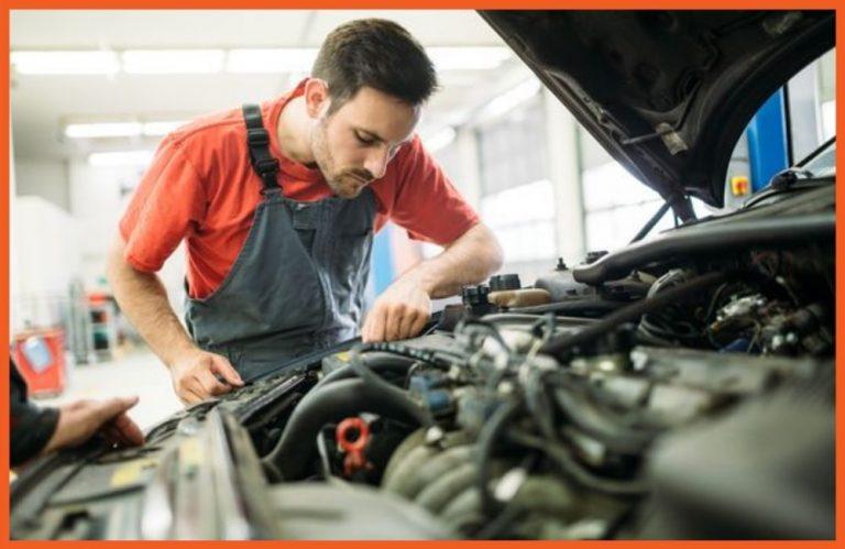 VSC - Mechanic Working on Car Engine