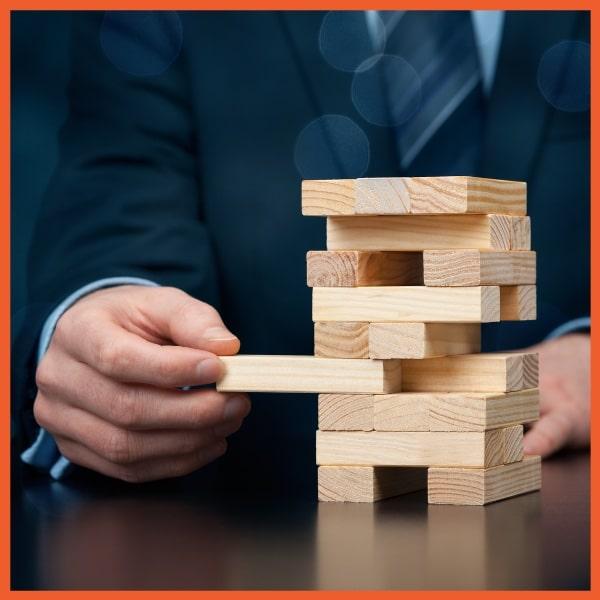 VSC - Minimize Risk - Jenga Puzzle