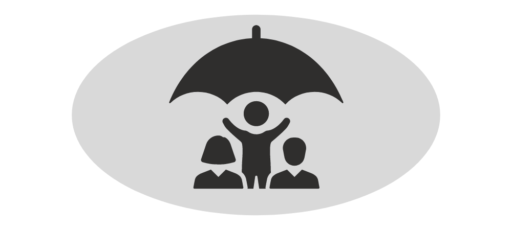 Payment Protection Person with Umbrella